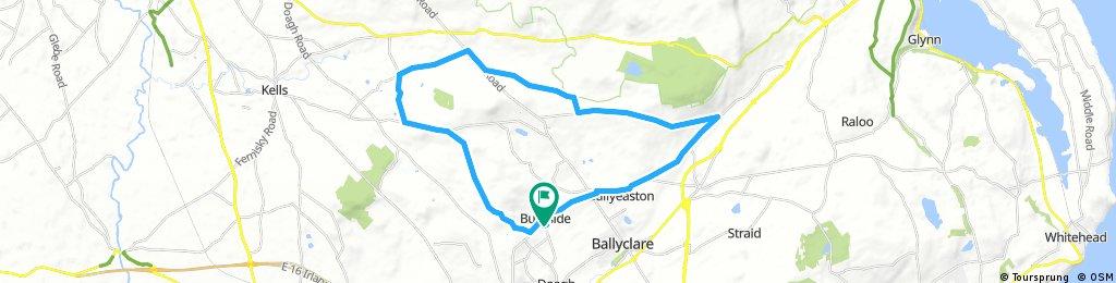 Long bike tour through Burnside