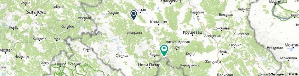 Tour de Bałkany 2017 dzień 10