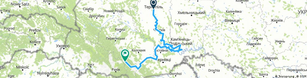 Тернополь-Ворохта