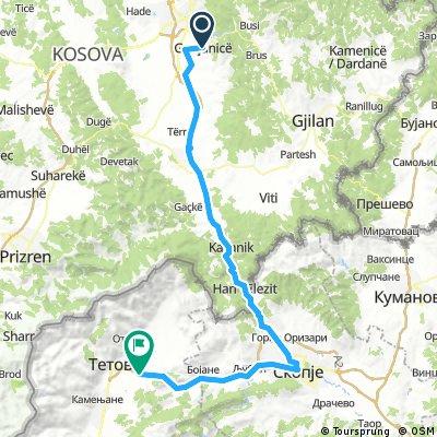 Tour de Bałkany 2017 dzień 12