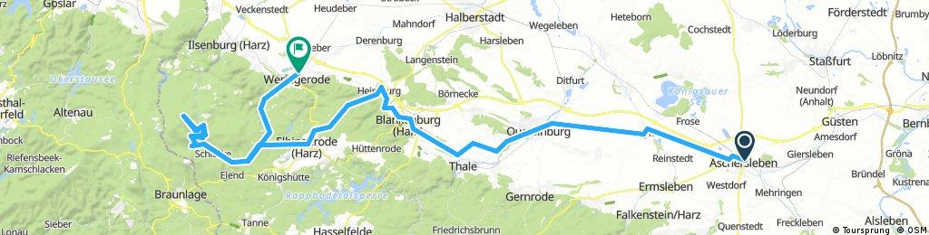 17-06-05_Aschersleben - Brocken - Wernigerode