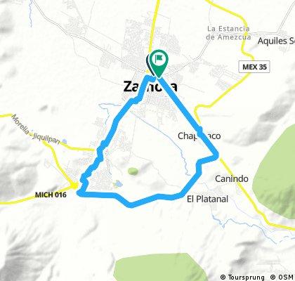 Circuito Zamora - Jacona - Platanal - Zamora