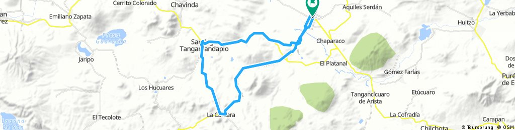Circuito Zamora - Tangamandapio - Jacona