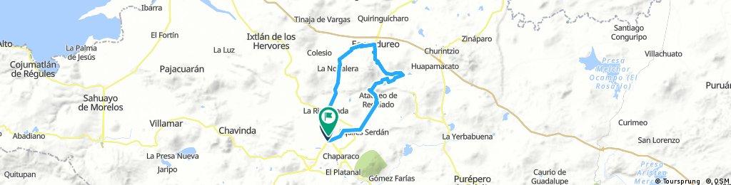 Circuito Zamora - Moreno - Ecuandureo - Zamora