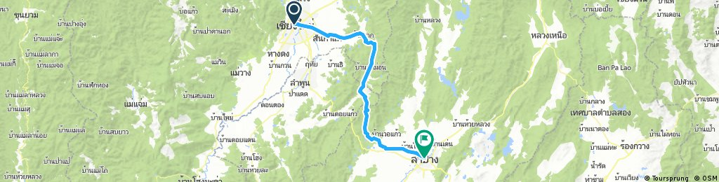 Chiang Mai to Lampang