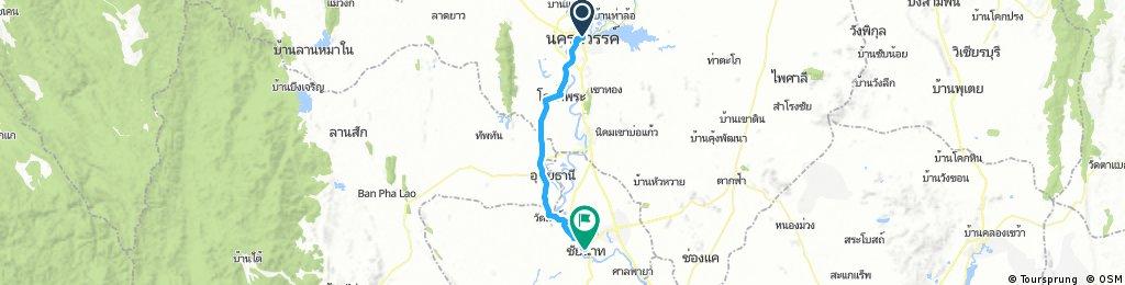Nakhon Sawan to Chia Nat