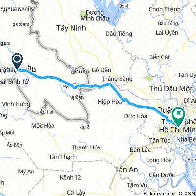 Svay Rieng to Ho Chi Min City