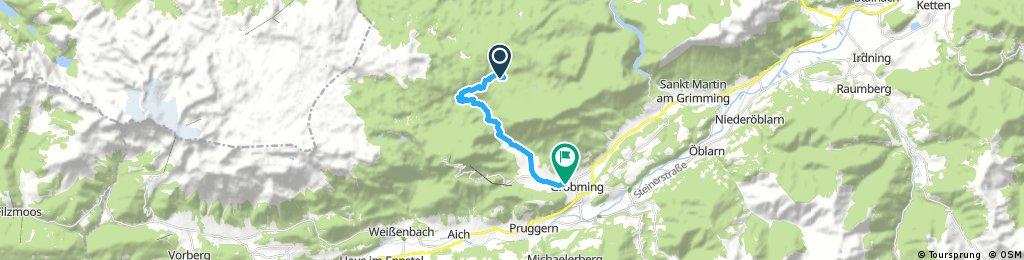 ride through Gröbming