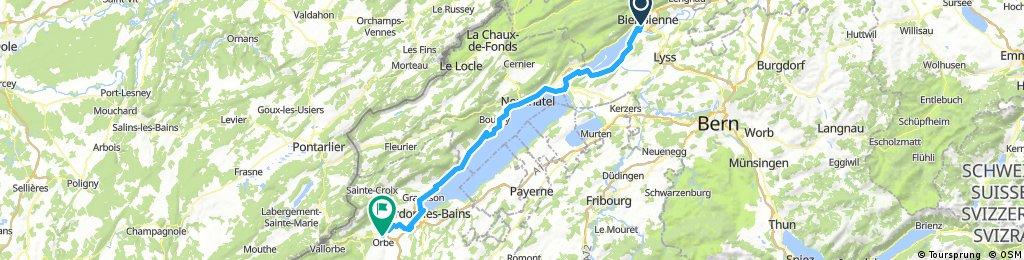 47°Nord Tour de Suisse Etappe 1