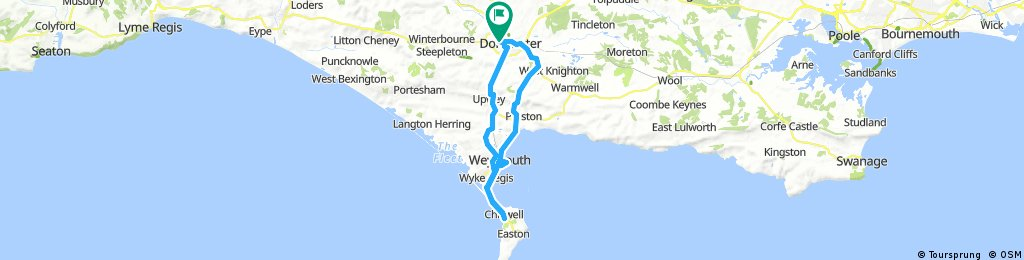 James and Moe to Weymouth. West Dorset