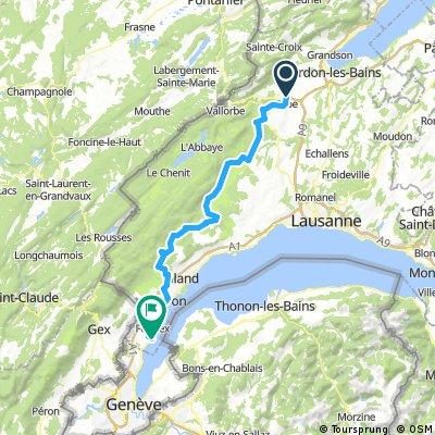 47°Nord Tour de Suisse Etappe 2