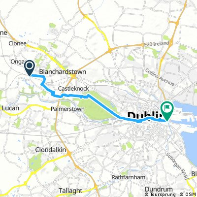 From Blanch to Dublin Docks