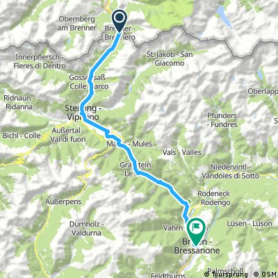 1/5 Brenner to Brixen