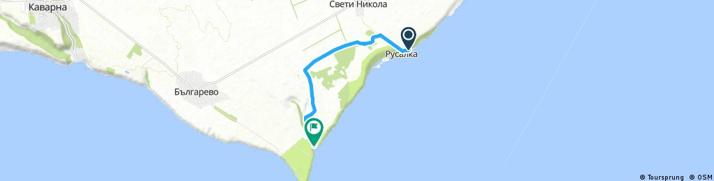Plimbare Rusalka - Golf Bolata