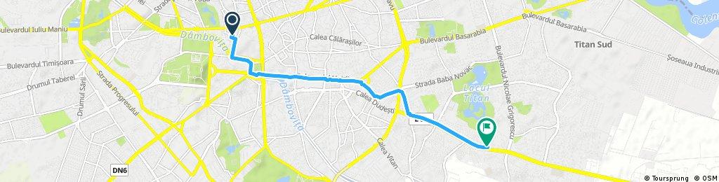 Short ride through Bucharest