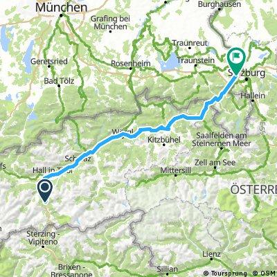 Vom Brenner nach Ainring