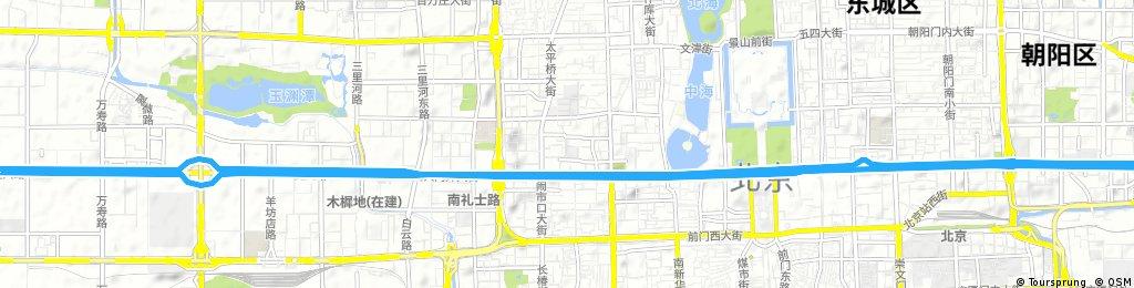 Lengthy bike tour through Beijing