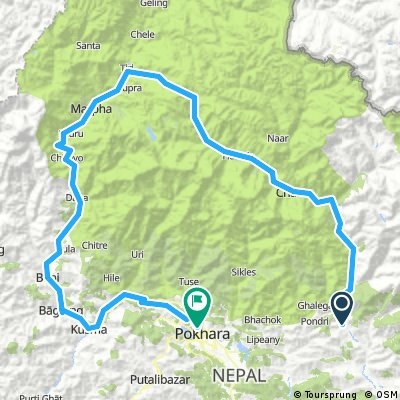 Around Anapurna, Nepal