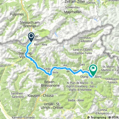 Brenner - Lago di Valdora (Olang See)