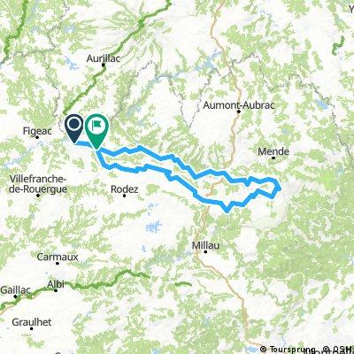 Aveyron, tour de 5 jours