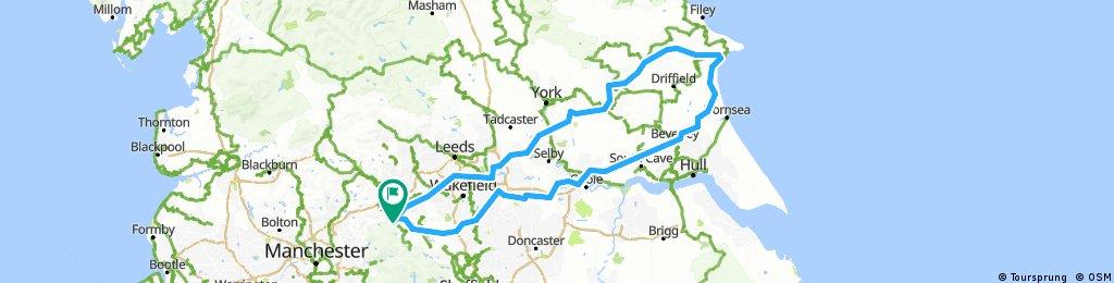 Audax perm buttys brid trip 300km