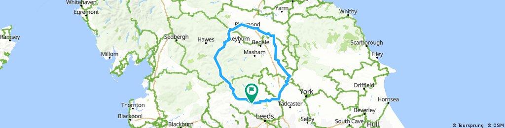 Audax yorkshire mixture 200 km