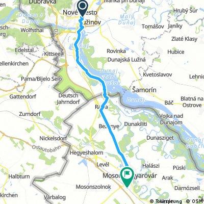 From Bratislava to Mosonmagyvar