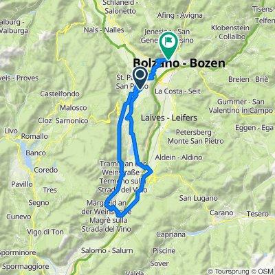 🚴♀️E*Bike🇮🇩  Girlan-Turmhof-Kalterersee-Bozen