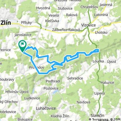 Cyklotrasy 015 - Vizovické vrchy