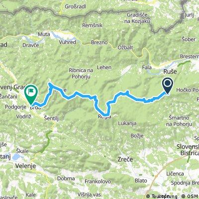 Pohorje Areh Slovenj Gradec