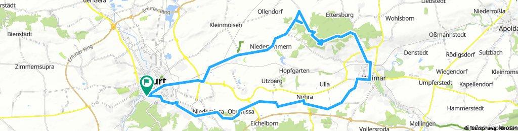 Rundkurs nach Weimar über Buchenwald