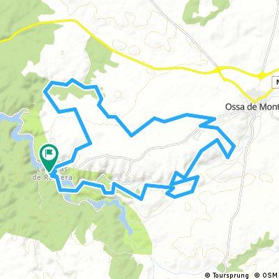 Ruidera-Osa de Montiel y vuelta por La Cañada del Hornillo