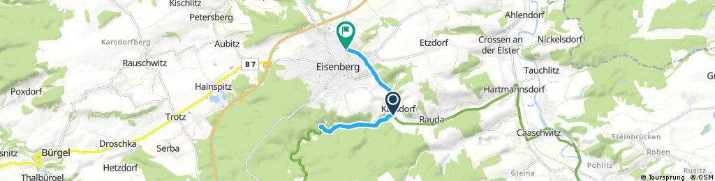 Brief ride through Eisenberg