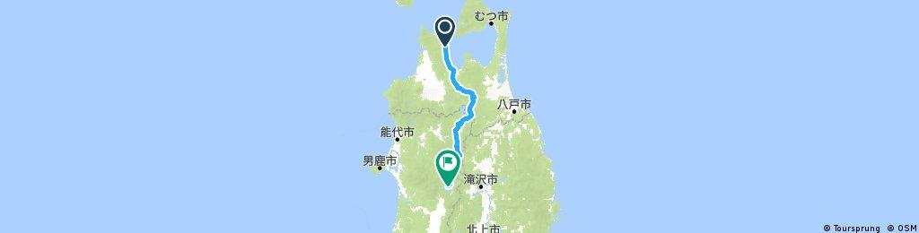 Wakinosawa - Lake Tazawa