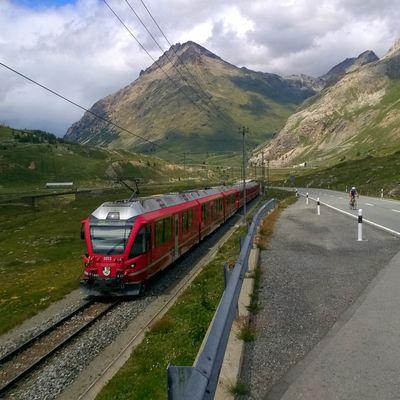2017-07-14 Passo del Bernina (2.328 m) - Forcola di Livigno (2.315 m)