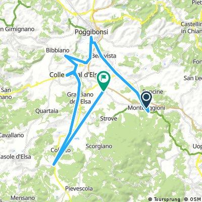 Brief bike tour from 28 juli 13:26