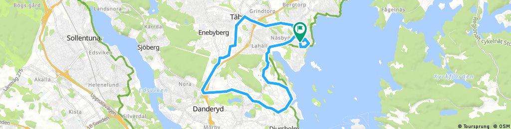 Bikerude 4: Casual Djursholm-Taby