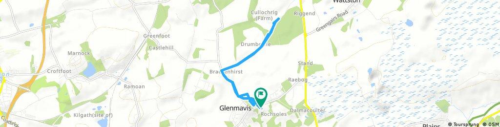 Brief ride through Glenmavis