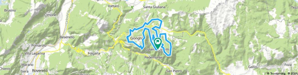 844 + parte 843 Alpe Cimbra Luserna Lavarone