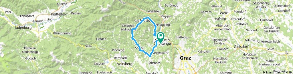 Lange Radrunde durch Judendorf-Straßengel