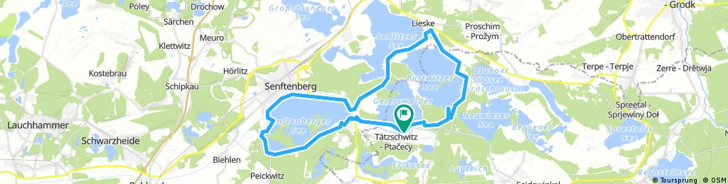 Senftenberger 3Seen-Runfahrt