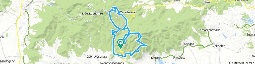 Lengthy bike tour from július 29. 10:10