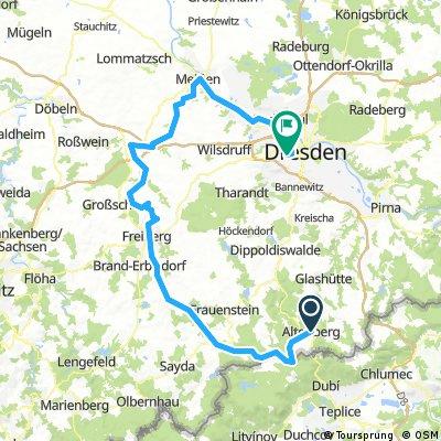 Vom Erzgebirge zur Elbe