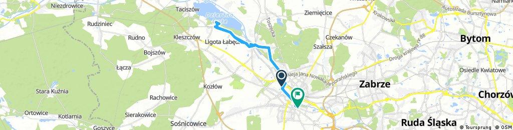 bike tour through Gliwice