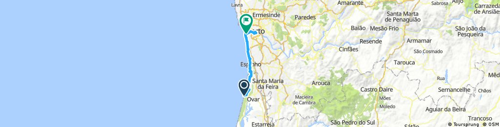 Von Porto nach furadouro Portugal