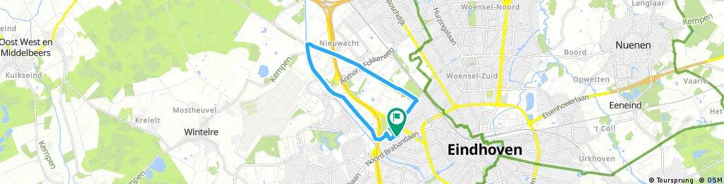 ride through Eindhoven