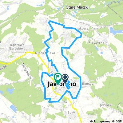 bike tour through Jaworzno