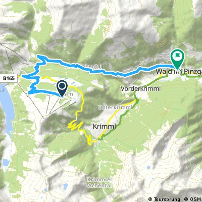 Wald im Pinzgau - Krimml Waterfalls - Königsleiten