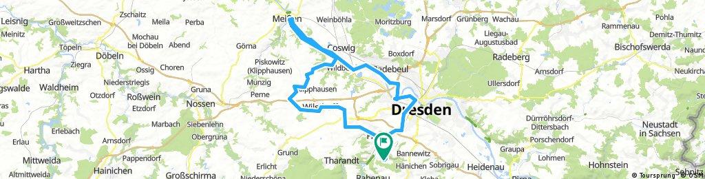 Freital-Wilsdruff-Röhrsdorf-Meissen-Dresden-Freital