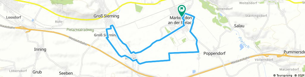 Radrunde durch Markersdorf an der Pielach